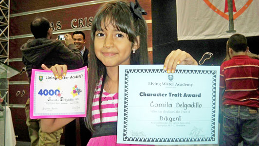 Cami and her Awards