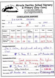 Naume's report